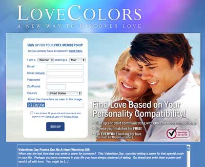 Free Dating Site - LuvFreecom