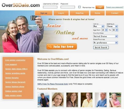 Dating site member search